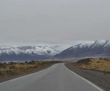 Camino al Glaciar Perito Moreno - Argentina