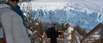 Pasarelas para vistas del Glaciar Perito Moreno - Argentina