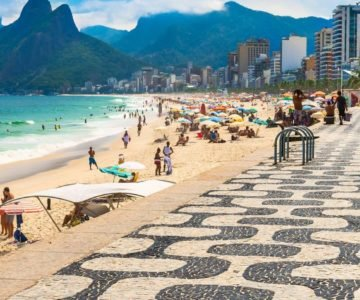 Playa de Copacabana - Río de Janeiro