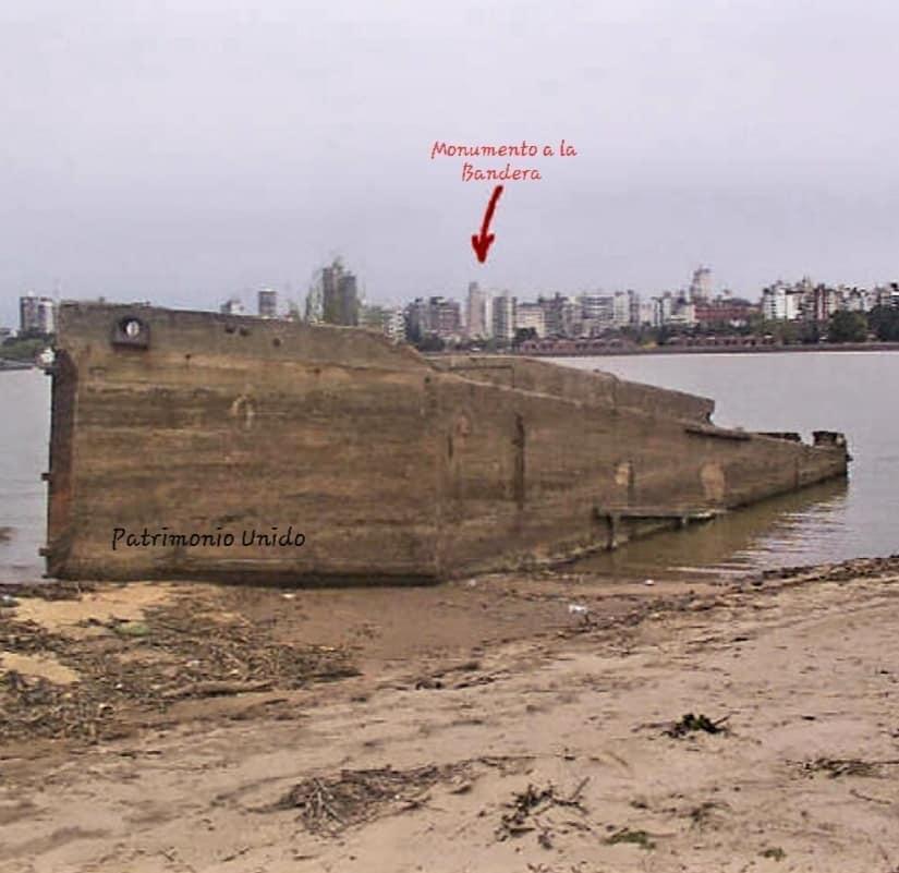 Bajante del Río Paraná - Rosario 2020
