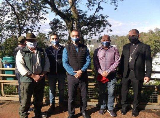 Autoridades provinciales, municipales y de Parques Nacionales asistieron a la reapertura formal del Parque.