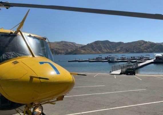 Continúa la búsqueda de Naya Rivera en el Lago Piru, por agua, por tierra y por aire.