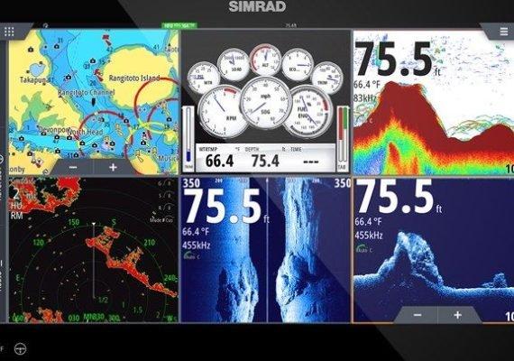 Nueva pantalla NSS evo3S™ de Simrad