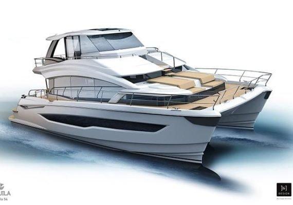 Aquila 54 Catamarn Power