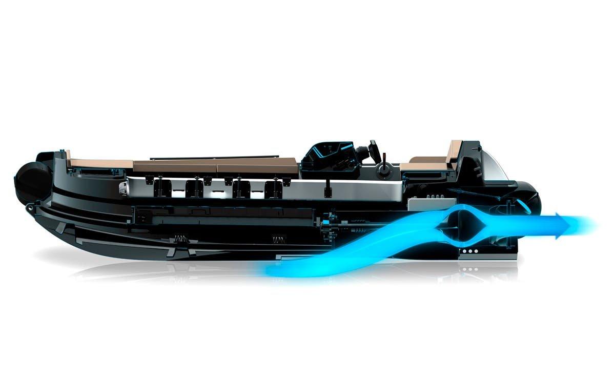 Avon eJET 450, una semirrígida 100% eléctrica con propulsión jet y batería BMW i3.