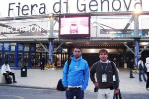 En 2007 visitamos por primera vez el Salón Náutico de Génova.