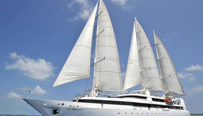 'Le Ponant' es el único velero de la compañía propiedad de la familia Pinault.