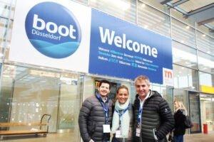 En el Boot Dusseldorf, junto a Martín Corgo, amigo de la casa, visitamos ese boat show, el más grande del mundo.