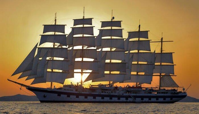 El 'Royal Clipper', el más exclusivo de los barcos de la naviera