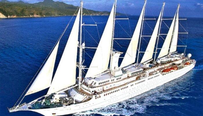 La naviera Windstar compró el Club Med1 y lo rebautizó como 'Wind Surf'