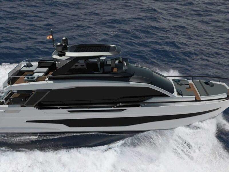 El Astondoa AS8 de 25 m tiene un diseño funcional y contemporáneo.