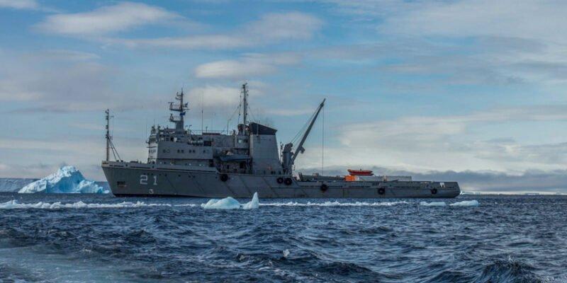 Armada Argentina - Rescate en la Antártida