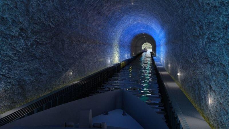 Noruega túnel